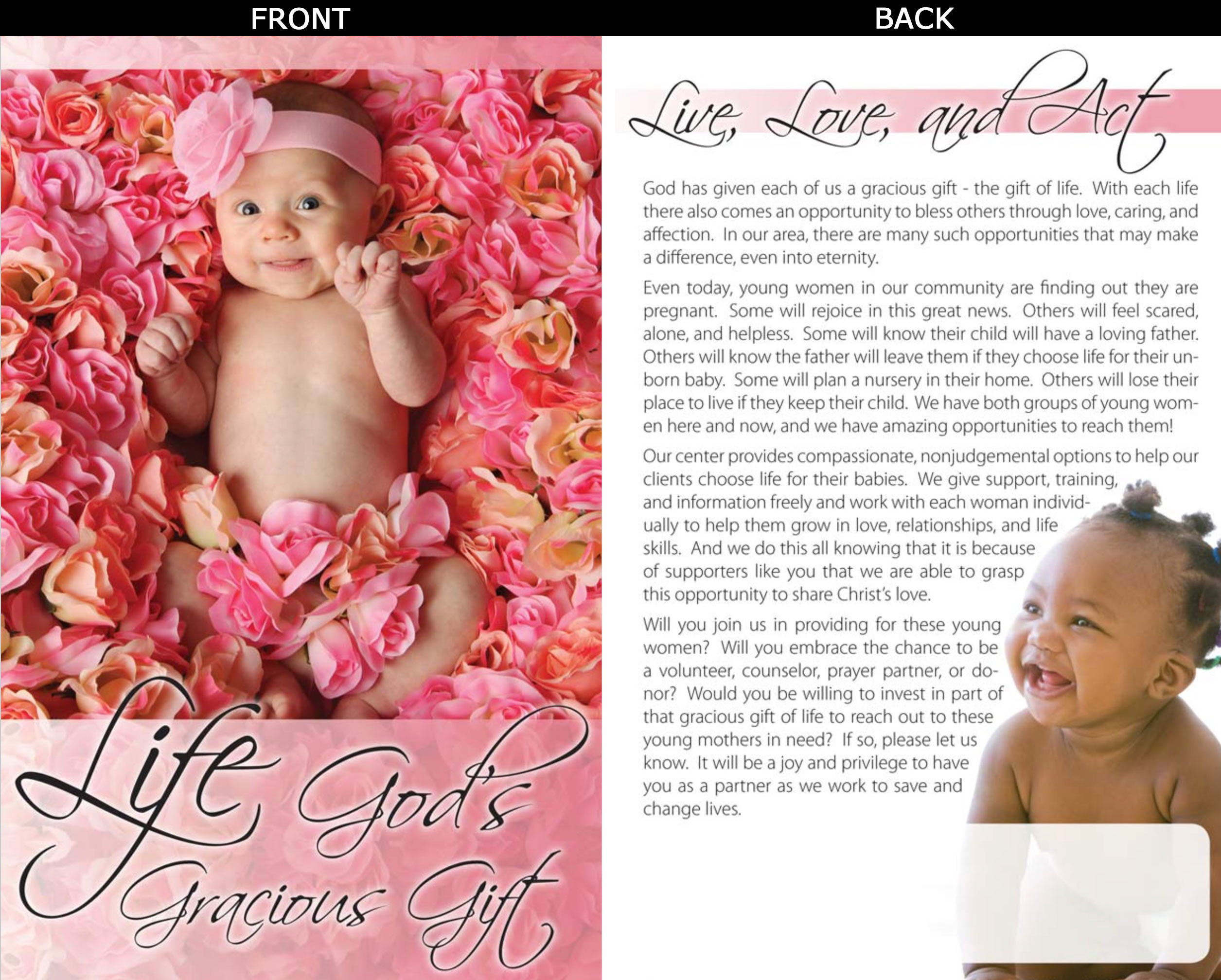 Sanctity of Life Bulletin Insert